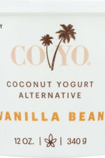 CO YO: Coconut Yogurt Alternative Vanilla Bean, 12 oz
