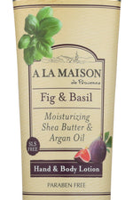 A LA MAISON: Lotion Fig & Basil, 5 fo