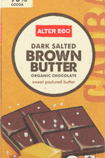 ALTER ECO: Organic Chocolate Dark Salted Brown Butter, 2.82 oz