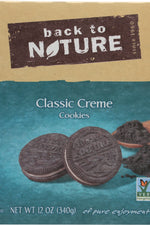 BACK TO NATURE: Classic Sandwich Creme Cookie, 12 oz