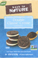 BACK TO NATURE: Cookie Double Classic Creme, 10.7 oz
