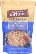 BACK TO NATURE: Gluten-Free Apple Blueberry Granola, 12.5 oz