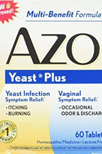 AZO: Yeast Tablets, 60 tb