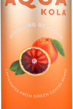 AQUA KOLA: Beverage Sparkling Blood Orange, 12 fo