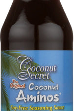 COCONUT SECRET: Coconut Aminos Soy Free Seasoning Sauce, 16.9 oz