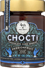 4TH & HEART: Ghee Passionfruit Chocti, 12 oz