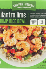 CHEATING GOURMET: Bowl Cilantro Lime Shrimp Rice, 8 oz