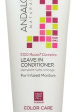 ANDALOU NATURALS: 1000 Roses Complex Color Care Leave-In Conditioner, 6.8 oz