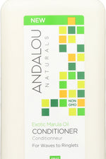 ANDALOU NATURALS: Exotic Marula Oil Silky Smooth Conditioner, 11.5 oz