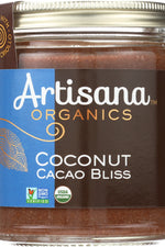 Artisana Organic Raw Coconut Cacao Bliss Nut Butter, 8 Oz