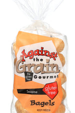 AGAINST THE GRAIN GOURMET: Sesame Bagels, 14 oz