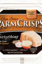 KITCHEN TABLE BAKERS: Cracker Everything Parmesan, 3 oz
