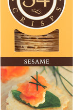 34 DEGREES: Sesame Crisps, 4.5 oz