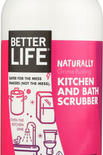 BETTER LIFE: Cleaner Sink Scrubber Gentle Even, 16 oz