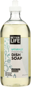 BETTER LIFE: Dish Soap Unscented Dish It, 22 oz