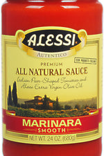 ALESSI: Marinara Pasta Sauce Smooth Style, 24 oz