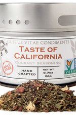 GUSTUS VITAE: Seasoning Taste of California, 0.7 oz
