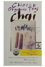 CHOICE TEA: Chai Tea, 2.1 oz