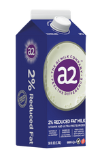A2 MILK: 2% Reduced Fat Milk, 59 oz