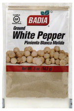 BADIA: Ground White Pepper, 0.5 oz