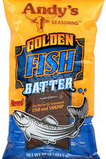 ANDY'S SEASONING: Golden Fish Batter, 10 oz