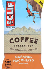 CLIF BAR: Caramel Macchiato Energy Bar, 2.40 oz