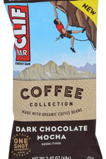 CLIF BAR: Dark Chocolate Mocha Energy Bar, 2.40 oz