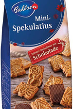 BAHLSEN HOLIDAY: Spekulatius Mini Chocolate Cookies, 7 oz