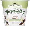 GREEN VALLEY ORGANICS: Low Fat Lactose Free Yogurt Vanilla, 6 oz