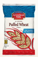 ARROWHEAD MILLS: Puffed Wheat Cereal, 6 oz