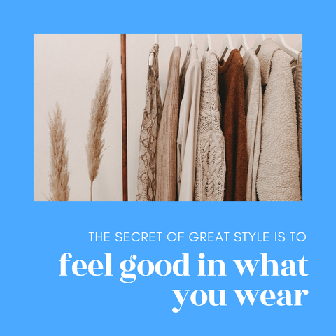 The secret of great style is to feel good in what you wear | Ejiji Boutique