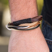 Forest Guide Brown Paparazzi Leather Bracelets Ejiji Boutique