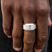 Checkmate Men's Silver Paparazzi Ring EJIJI Boutique