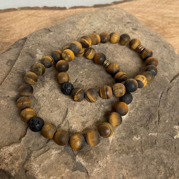 Tiger Eye Meditation Bracelet