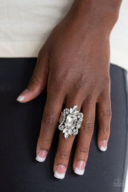 Things That Go Boom! White Paparazzi Ring Rings JewelTonez