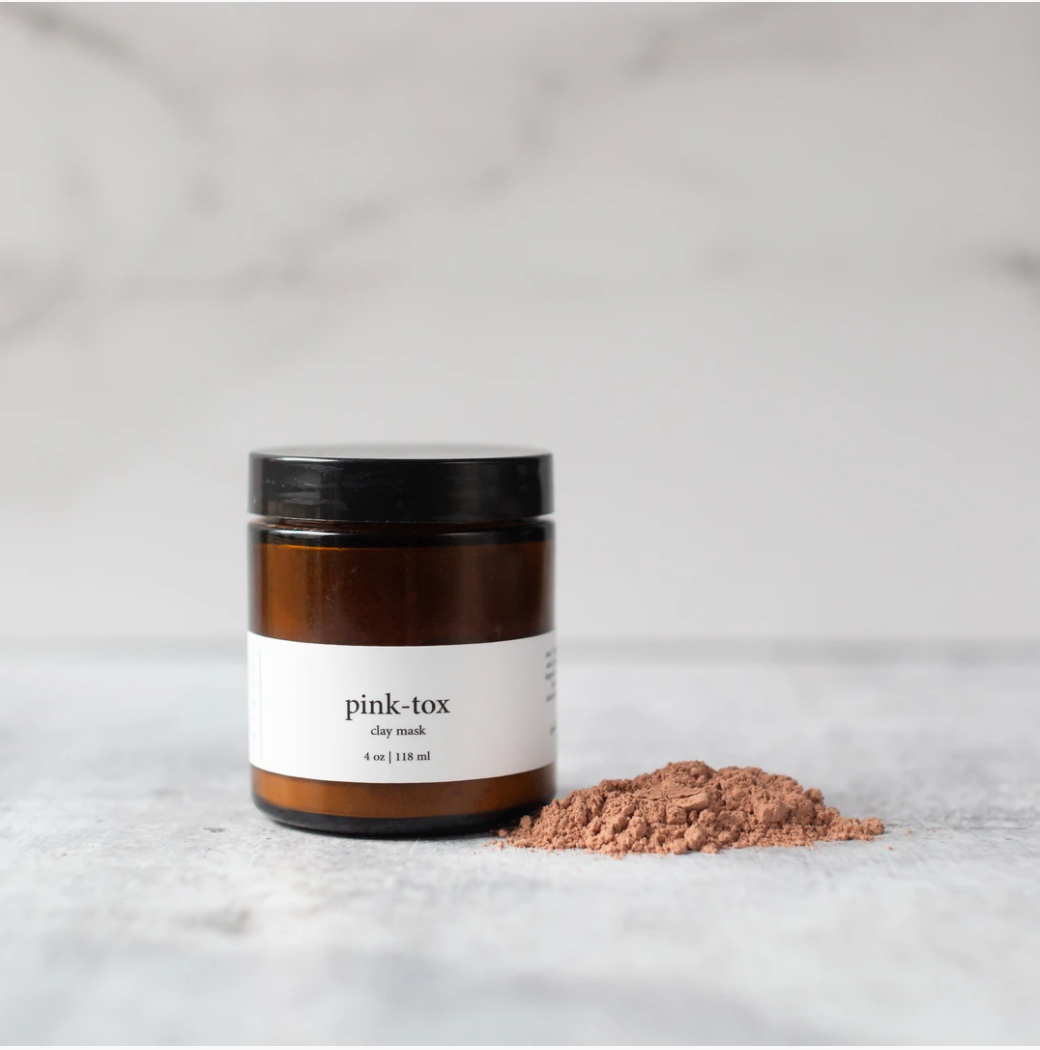 PINK-TOX CLAY MASK