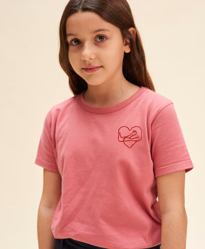 T-shirt câlin rose kids
