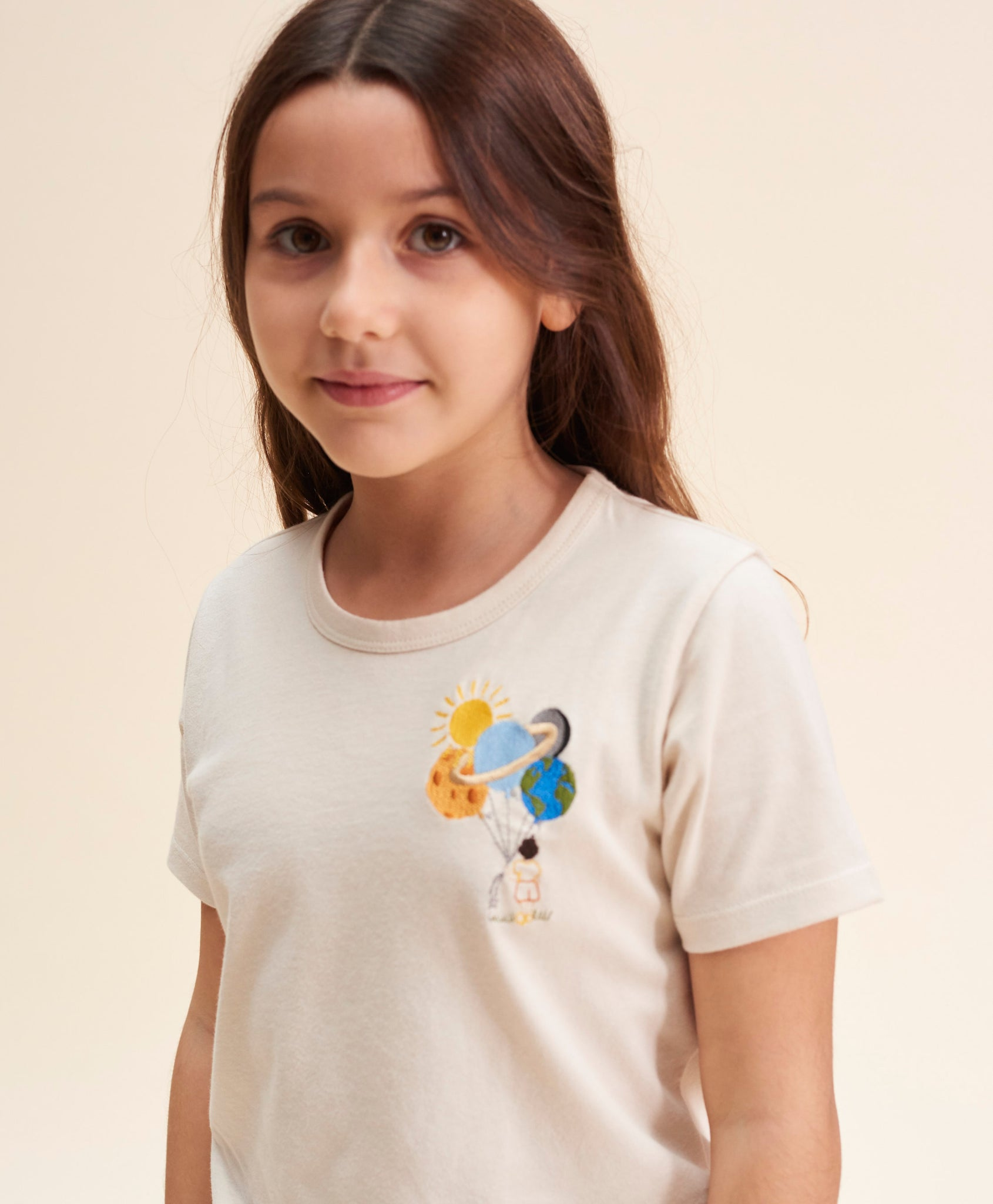 T-shirt ballon planètes kids
