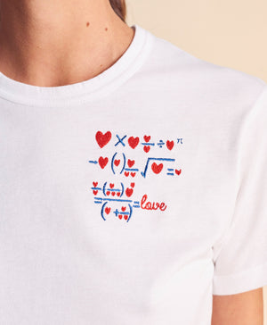 T-shirt love equation