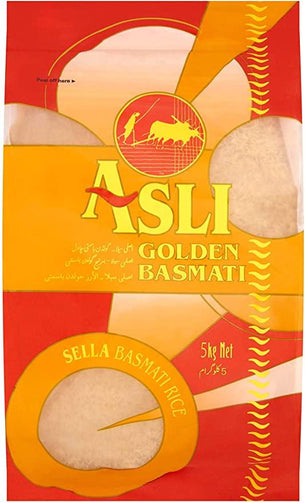 Picture of Golden Sella Basmati Rice (Asli) 5kg