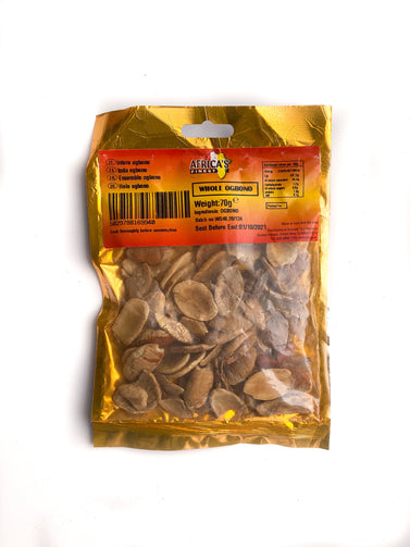 Whole Ogbono Seeds Africa's Finest 70g