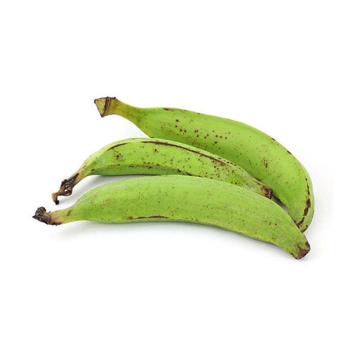 Green Plantain or Unripe Plantain in London UK