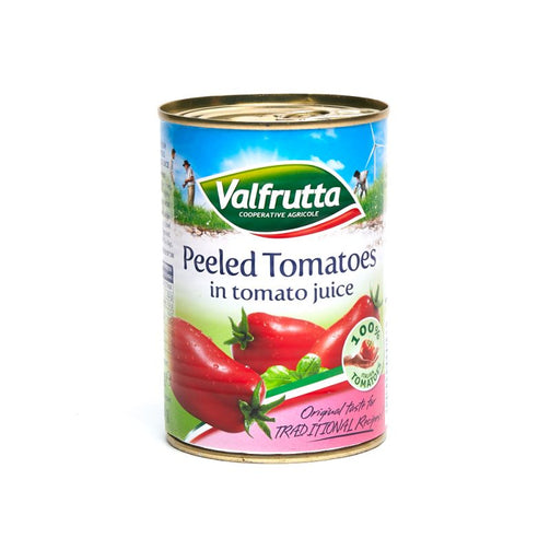 Valfrutta Italian Peeled Plum Tomatoes in Juice for Online Delivery