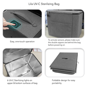 Lila - UV-C Sanitizer Bag