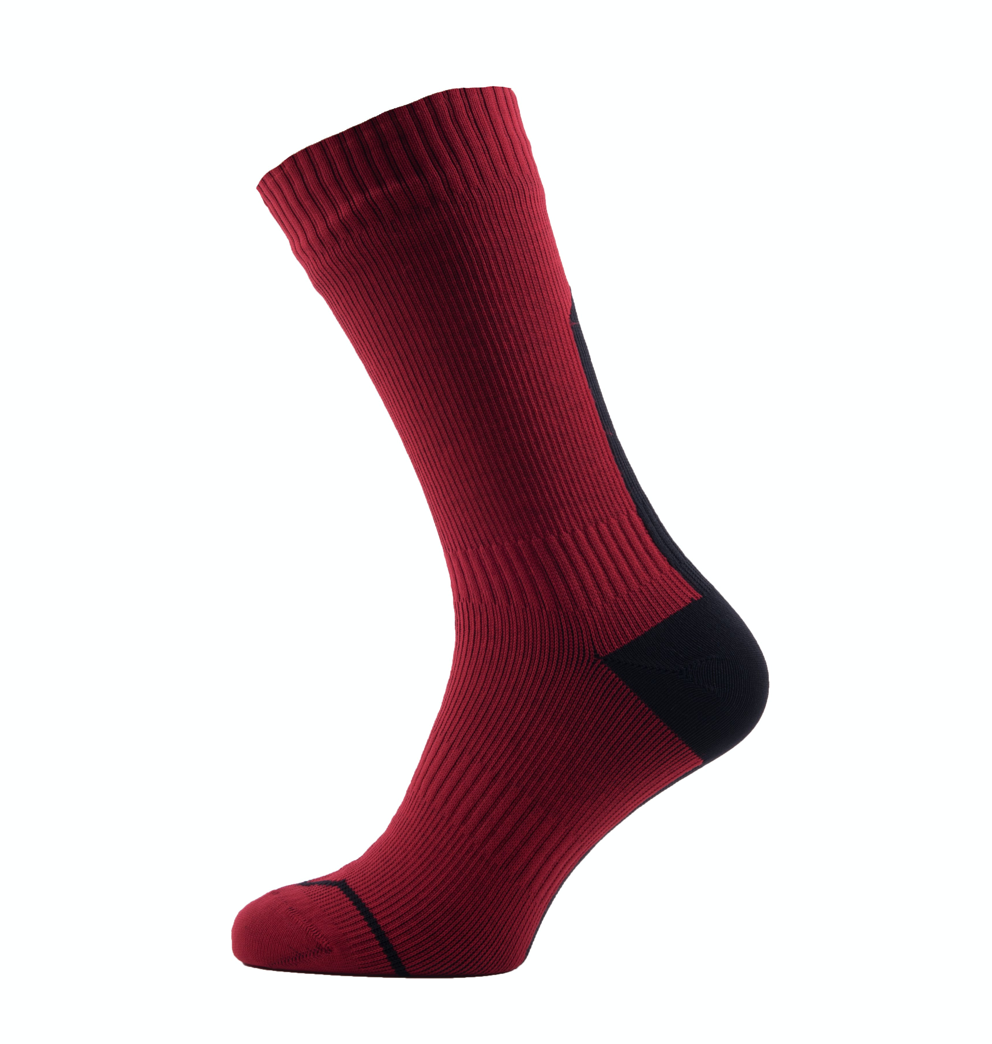 Waterproof Road Thin Mid Socks with Hydrostop