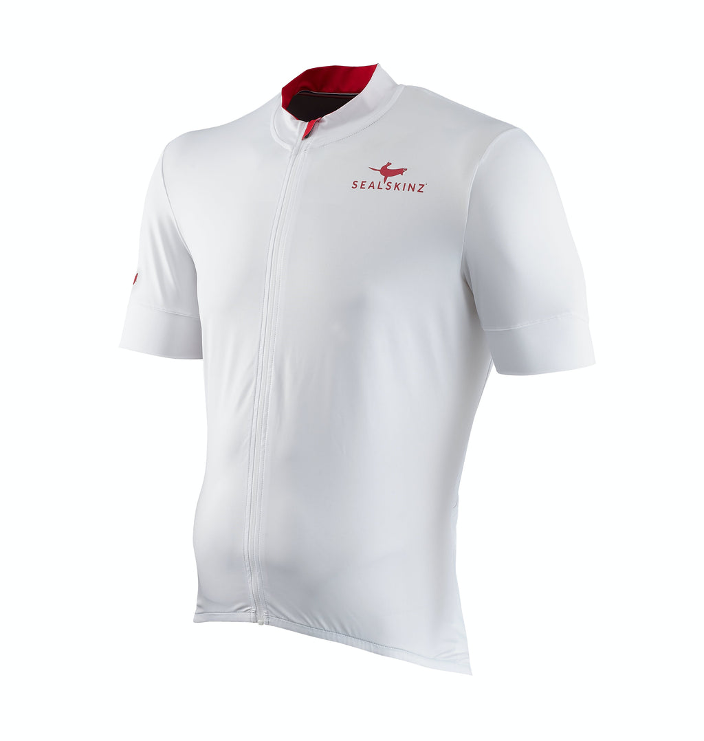 Water Repellent Short Sleeve Cycling Jersey (Full Zip)