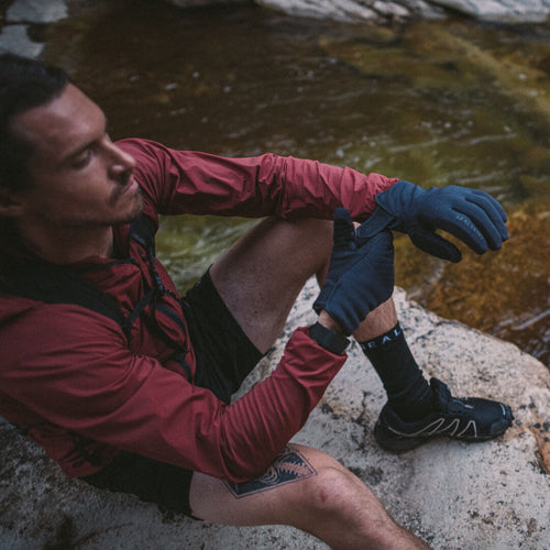 Sealskinz gloves are made for hiking