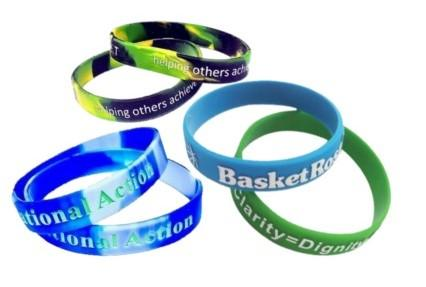 Silicone Wristbands - Debossed, Embossed Or Printed? - Promotions Only Wristbands