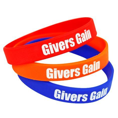4 Day Express Printed Silicone Wristbands - Child Size - Promotions Only Wristbands