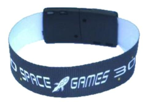 5 Day Express Fabric Wristband with Plastic Breakaway - Promotions Only Wristbands